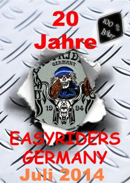 20 Jahre Motorradgruppe - EASYRIDERS